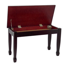Grand Piano Bench With Music Compartment