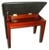 digital piano bench with music compartment