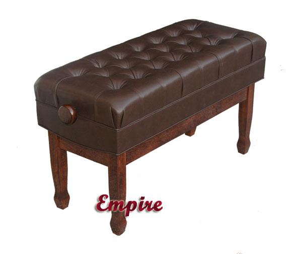 Phenomenal Empire Duet Concert Adjustable Artist Piano Bench Short Links Chair Design For Home Short Linksinfo