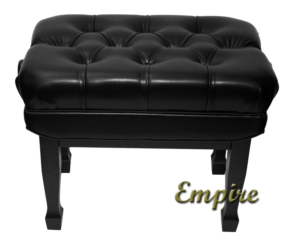 empire black artist bench with spade legs