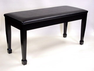 grand piano bench upholstered top