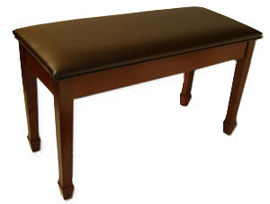 jansen upright piano bench upholstered top
