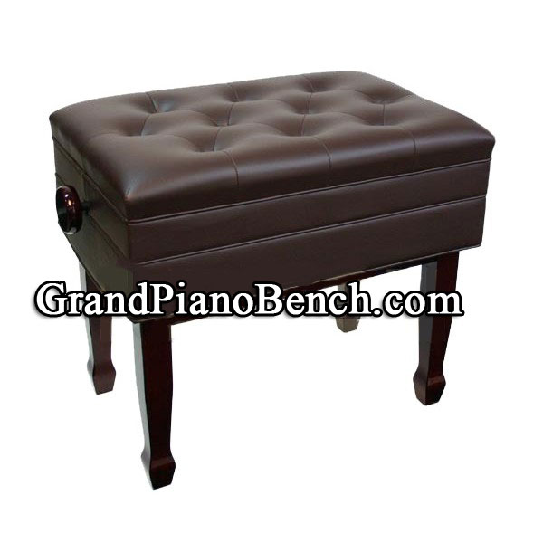 Adjustable Piano Bench With Music Compartment