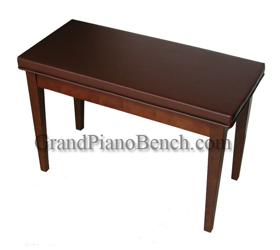 piano bench upholstered top