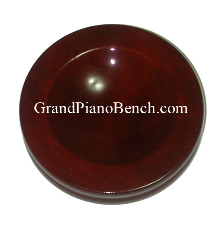 high polish piano caster cups