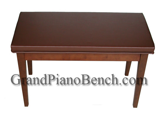 upright piano bench upholstered top